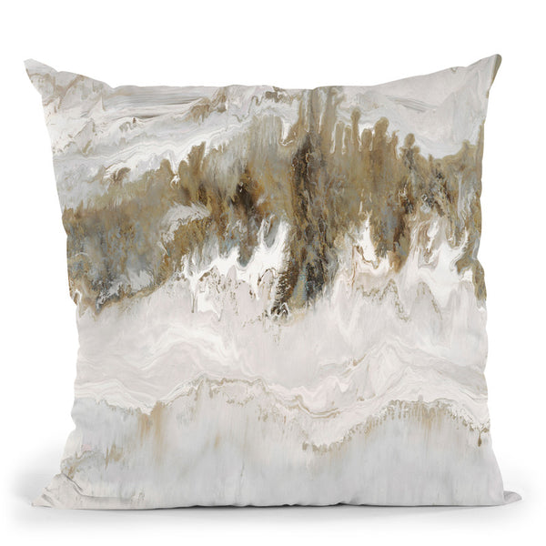 Natural Mineral Throw Pillow By Blakely Bering