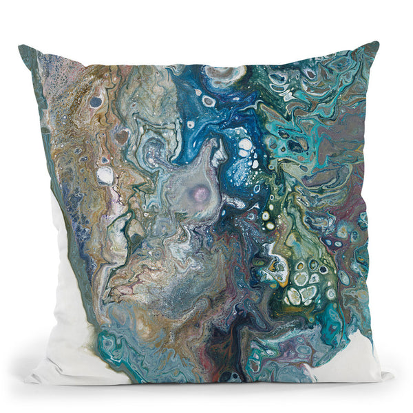 Blended Glory Throw Pillow By Blakely Bering
