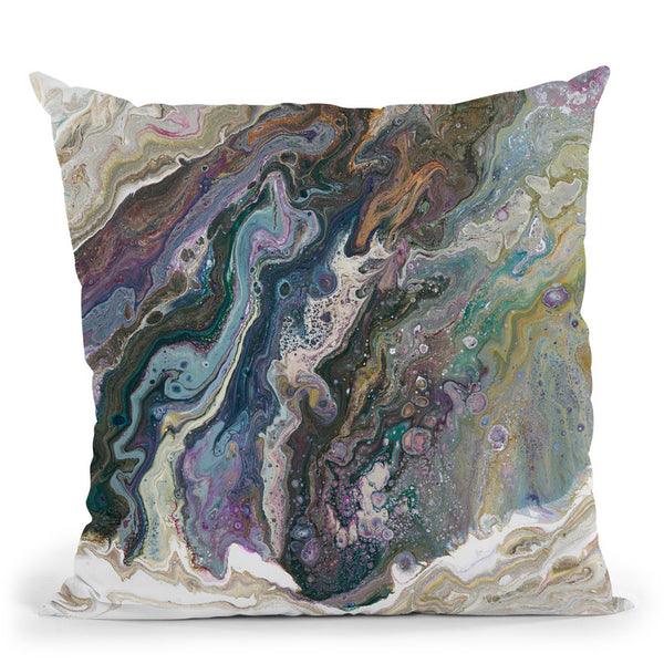 River Stone Throw Pillow By Blakely Bering