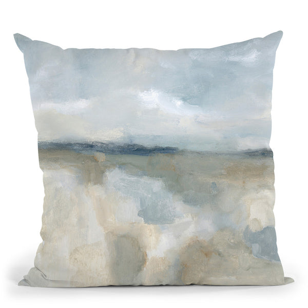 Neutral Coast Throw Pillow By Blakely Bering