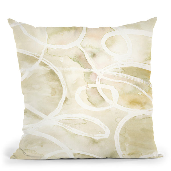 Rounded Ring 2 Throw Pillow By Blakely Bering