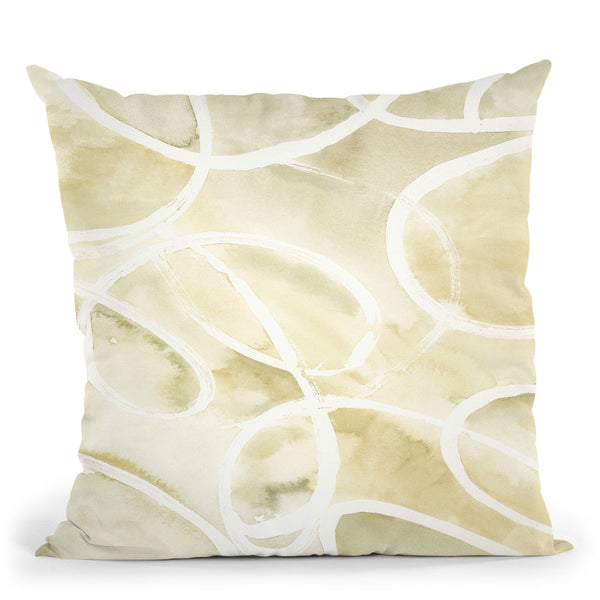 Rounded Ring 3 Throw Pillow By Blakely Bering
