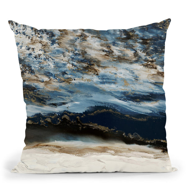 Midnight Wave Throw Pillow By Blakely Bering