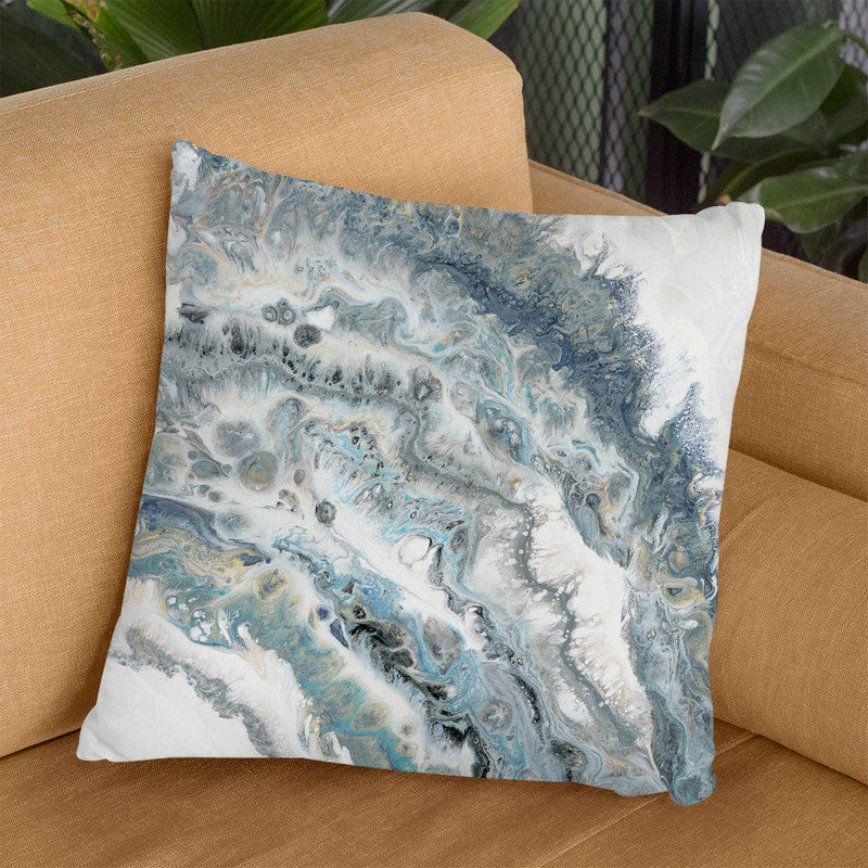 Fluid Arc Throw Pillow By Blakely Bering