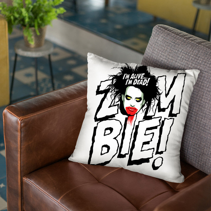 Zombie Throw Pillow By Butche Billy