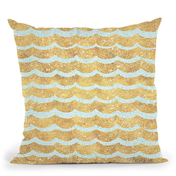 Winter Coast Pattern Viib Throw Pillow By Beth Grove