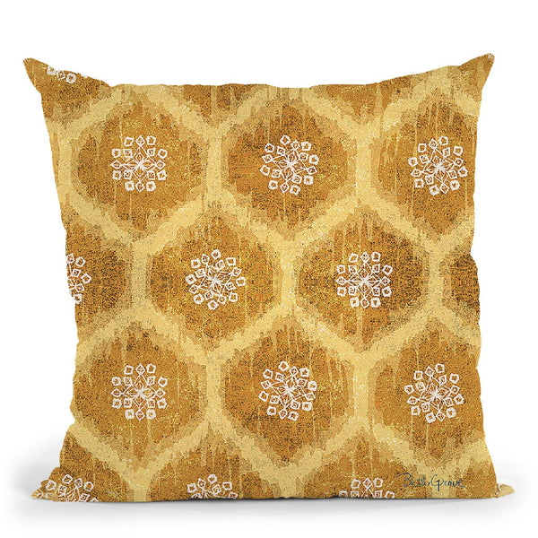 Winter Coast Pattern Vf Throw Pillow By Beth Grove