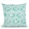 Winter Coast Pattern Vb Throw Pillow By Beth Grove