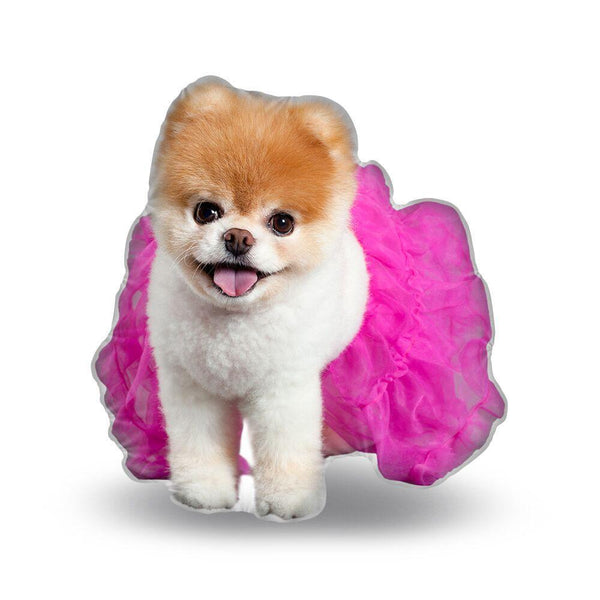 Boo Tutu Throw Pillow