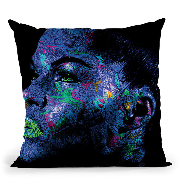 Sarah Throw Pillow By Baro Sarre