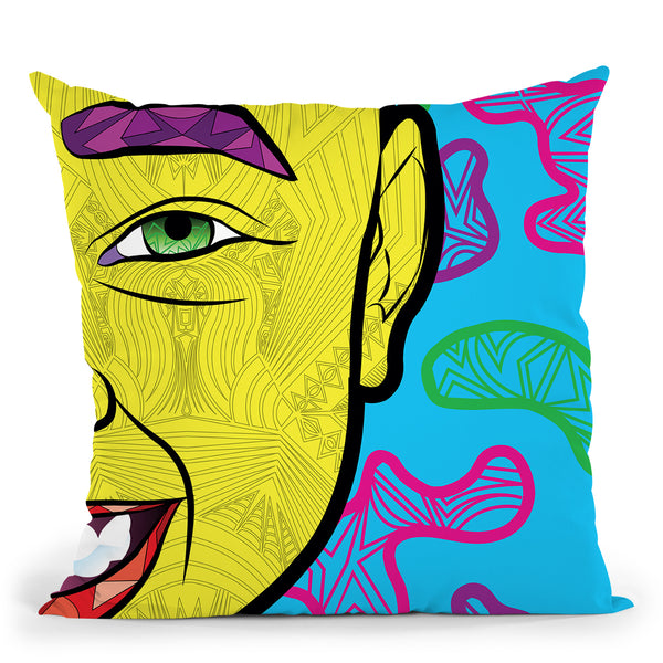 Pop-Joie Throw Pillow By Baro Sarre