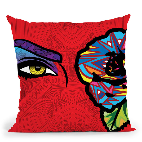 Pop-Passion Throw Pillow By Baro Sarre