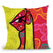 Pop-Secret Throw Pillow By Baro Sarre