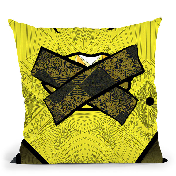 Pop-Verite Throw Pillow By Baro Sarre