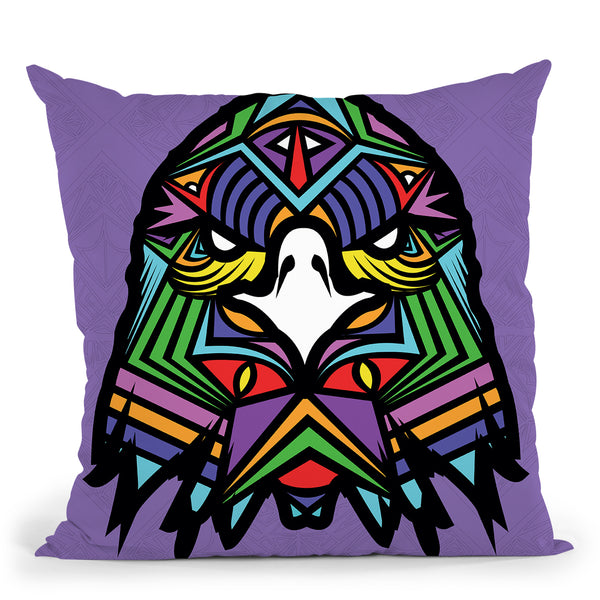 Eagle-Sauvage Throw Pillow By Baro Sarre