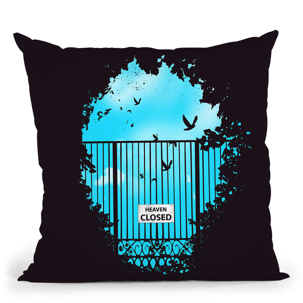 Heaven'S Door Throw Pillow By Balazs Solti