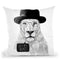 Say My Name Throw Pillow By Balazs Solti
