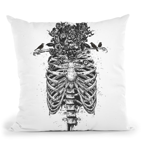 Tree Of Life Throw Pillow By Balazs Solti