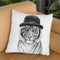 Welcome To The Jungle Throw Pillow By Balazs Solti