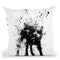Wetdog Throw Pillow By Balazs Solti