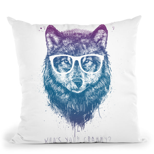 Whos Your Granny Throw Pillow By Balazs Solti