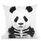 Zombie Panda Throw Pillow By Balazs Solti