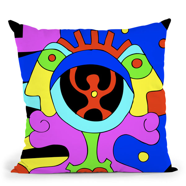 Create I Throw Pillow By Billy The Artist