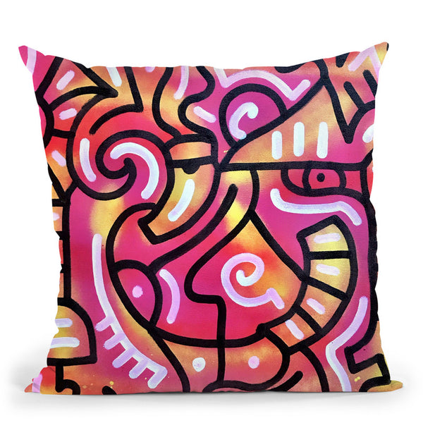 Morning Dew Throw Pillow By Billy The Artist