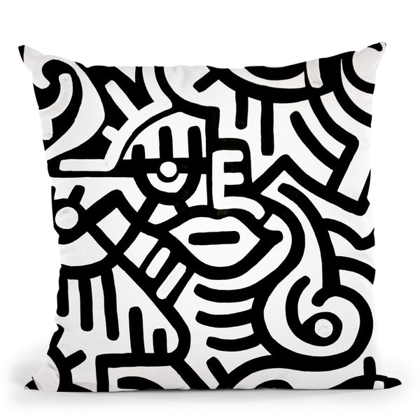 Sleepy Throw Pillow By Billy The Artist