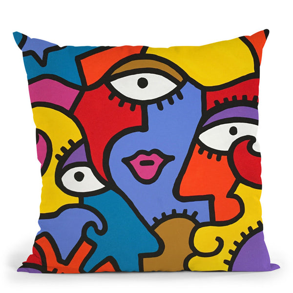 Spoleto Throw Pillow By Billy The Artist