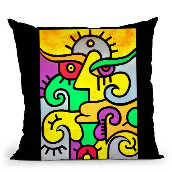 Sunrise Throw Pillow By Billy The Artist