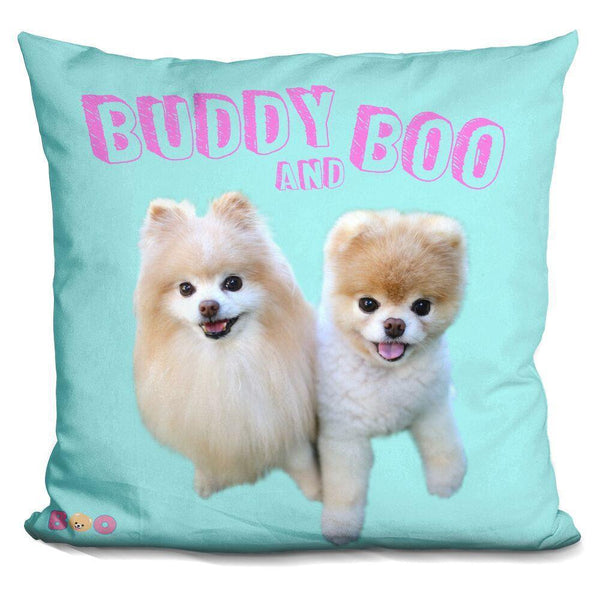 Boo Buddy And Throw Pillow