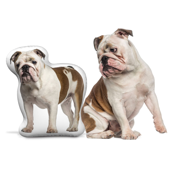 Personalized Bulldog Pillow