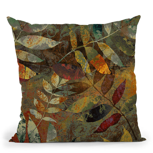 Autumn Soul Ii Throw Pillow By Color Bakery