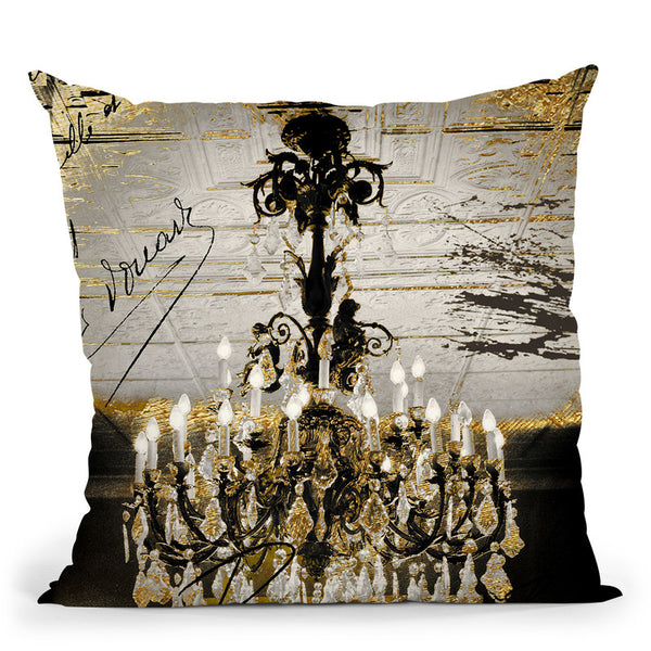 Chand 1 Throw Pillow By Color Bakery