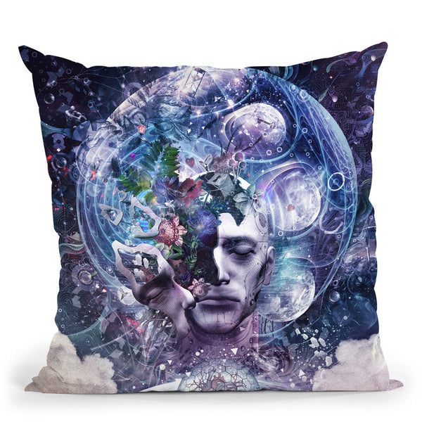 Chaos Theory  Throw Pillow By Cameron Gray - by all about vibe