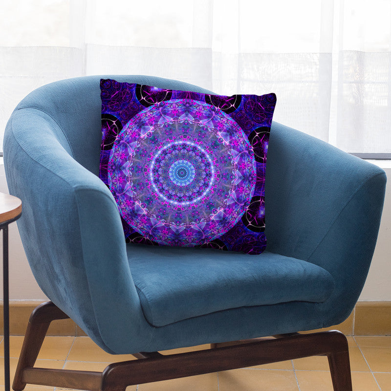 Dream Mandala  Throw Pillow By Cameron Gray - by all about vibe