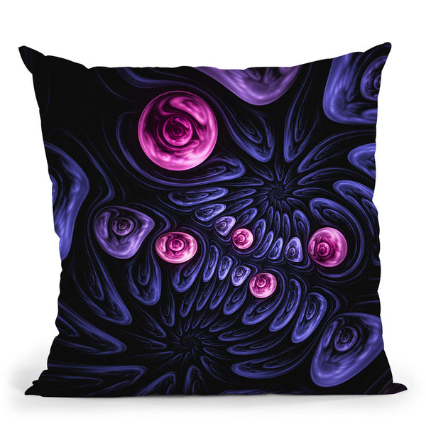 Flow  Throw Pillow By Cameron Gray - by all about vibe