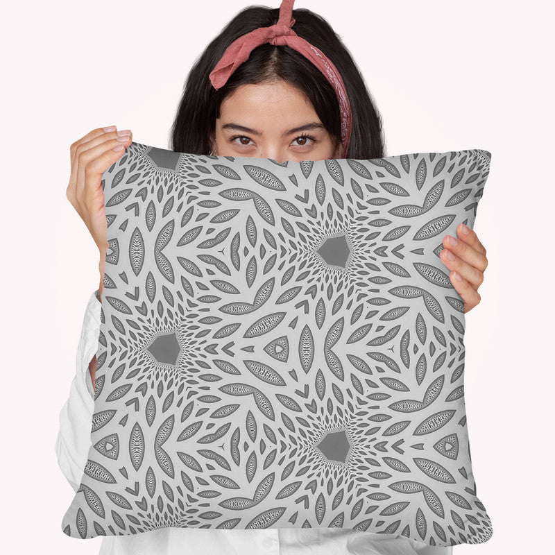 Interconnection Iv  Throw Pillow By Cameron Gray - by all about vibe