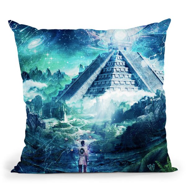 Journey Through A Dream  Throw Pillow By Cameron Gray - by all about vibe