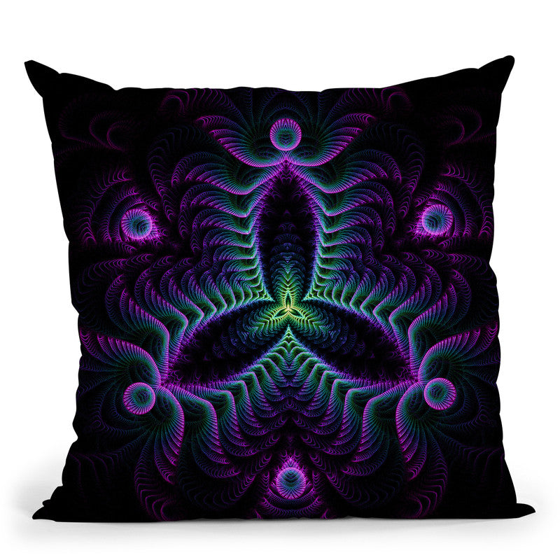 Lucidity  Throw Pillow By Cameron Gray - by all about vibe
