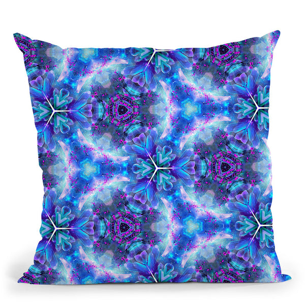 Psy Vibes Ii  Throw Pillow By Cameron Gray - by all about vibe