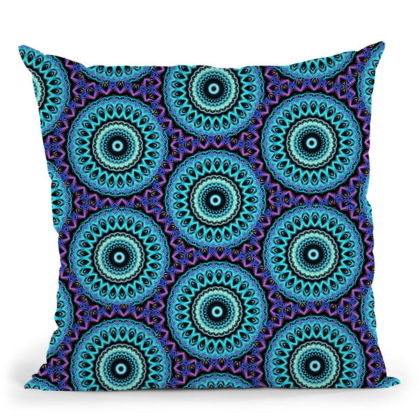 Psy Vibes  Throw Pillow By Cameron Gray - by all about vibe