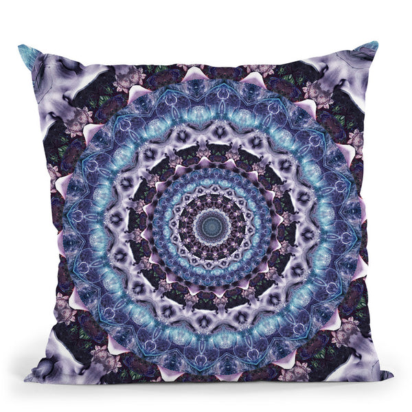 Set And Setting Iii  Throw Pillow By Cameron Gray - by all about vibe