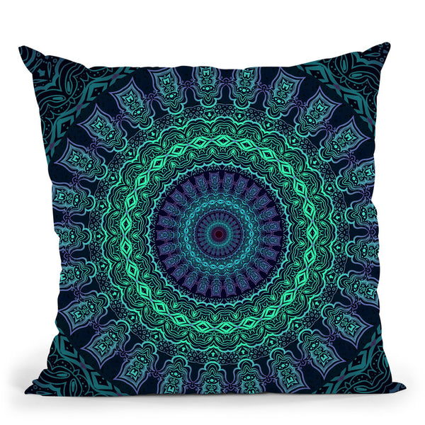 Set And Setting V  Throw Pillow By Cameron Gray - by all about vibe