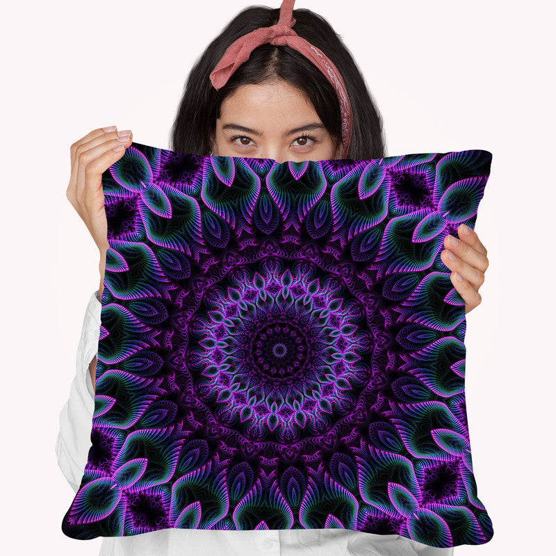 Set And Setting Vii  Throw Pillow By Cameron Gray - by all about vibe