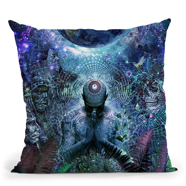 Gratitude For The Earth And Sky  Throw Pillow By Cameron Gray - by all about vibe