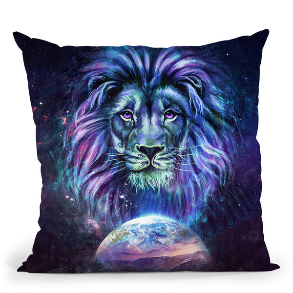 Guardian Cgray  Throw Pillow By Cameron Gray - by all about vibe
