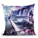Nature Painter Throw Pillow By Cameron Gray