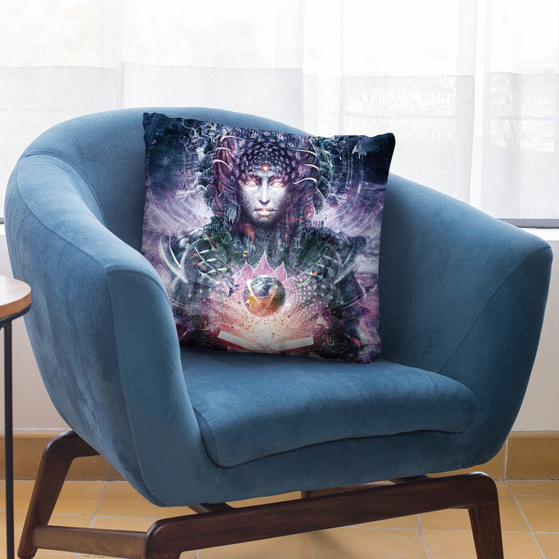 Ocean Atlas  Throw Pillow By Cameron Gray - by all about vibe